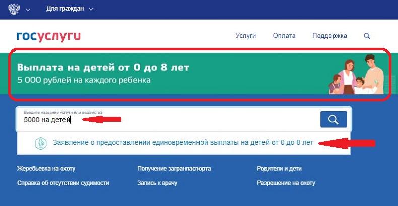 Как получить единовременную выплату 5000 рублей на ребенка до 7 лет к новому году - порядок и сроки выплаты